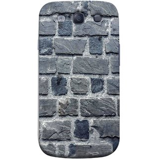FUSON Designer Back Case Cover for Samsung Galaxy S3 Neo I9300I :: Samsung I9300I Galaxy S3 Neo :: Samsung Galaxy S Iii Neo+ I9300I :: Samsung Galaxy S3 Neo Plus (Irregular Shapes Cement Ancient Different Sizes Wall)
