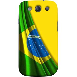 FUSON Designer Back Case Cover for Samsung Galaxy S3 Neo I9300I :: Samsung I9300I Galaxy S3 Neo :: Samsung Galaxy S Iii Neo+ I9300I :: Samsung Galaxy S3 Neo Plus (Brazilian Flag Olympiad In Brasil Happy Independence)