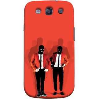FUSON Designer Back Case Cover for Samsung Galaxy S3 Neo I9300I :: Samsung I9300I Galaxy S3 Neo :: Samsung Galaxy S Iii Neo+ I9300I :: Samsung Galaxy S3 Neo Plus (Coat Pant Trouser Shadow Light White Shoes Posing )