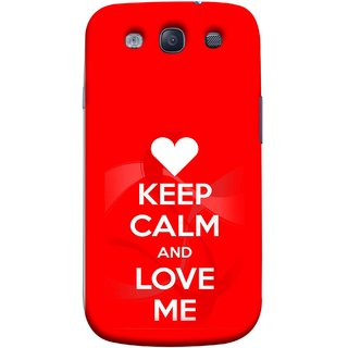 FUSON Designer Back Case Cover for Samsung Galaxy S3 Neo I9300I :: Samsung I9300I Galaxy S3 Neo :: Samsung Galaxy S Iii Neo+ I9300I :: Samsung Galaxy S3 Neo Plus (Beautiful Hearts Always Stay Silent And Love Other Work Resolve)