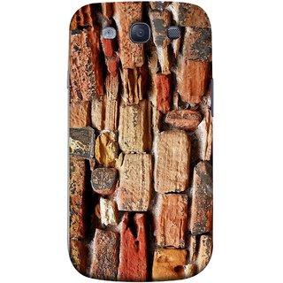 FUSON Designer Back Case Cover for Samsung Galaxy S3 Neo I9300I :: Samsung I9300I Galaxy S3 Neo :: Samsung Galaxy S Iii Neo+ I9300I :: Samsung Galaxy S3 Neo Plus (Irregular Shapes Ancient Different Sizes Wallpaper)