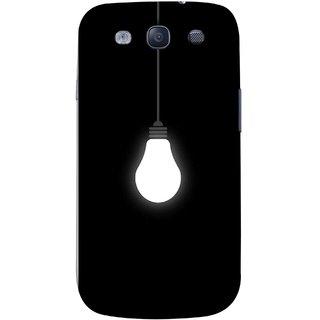 FUSON Designer Back Case Cover for Samsung Galaxy S3 Neo I9300I :: Samsung I9300I Galaxy S3 Neo :: Samsung Galaxy S Iii Neo+ I9300I :: Samsung Galaxy S3 Neo Plus (Hanging Light Bulb In Dark Room Ceiling Darkness )