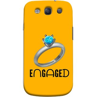 FUSON Designer Back Case Cover for Samsung Galaxy S3 Neo I9300I :: Samsung I9300I Galaxy S3 Neo :: Samsung Galaxy S Iii Neo+ I9300I :: Samsung Galaxy S3 Neo Plus (Couple Marriage Engegement Ring With Beautiful Diamond)