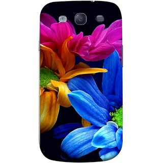 FUSON Designer Back Case Cover for Samsung Galaxy S3 Neo I9300I :: Samsung I9300I Galaxy S3 Neo :: Samsung Galaxy S Iii Neo+ I9300I :: Samsung Galaxy S3 Neo Plus (Colourful Wow Hd Gerbera Flowers Pink Blur Orange)