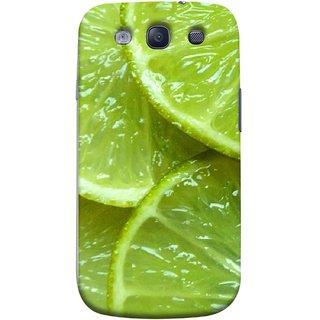 FUSON Designer Back Case Cover for Samsung Galaxy S3 Neo I9300I :: Samsung I9300I Galaxy S3 Neo :: Samsung Galaxy S Iii Neo+ I9300I :: Samsung Galaxy S3 Neo Plus (Lemon Agriculture Background Bud Candy Cell)