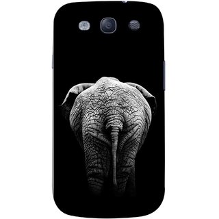 FUSON Designer Back Case Cover for Samsung Galaxy S3 Neo I9300I :: Samsung I9300I Galaxy S3 Neo :: Samsung Galaxy S Iii Neo+ I9300I :: Samsung Galaxy S3 Neo Plus (Side View Of Jungli Animal Forest Trees Leaves Branches)