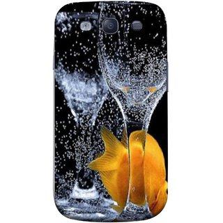 FUSON Designer Back Case Cover for Samsung Galaxy S3 Neo I9300I :: Samsung I9300I Galaxy S3 Neo :: Samsung Galaxy S Iii Neo+ I9300I :: Samsung Galaxy S3 Neo Plus (3D Water Splash Illustration Fuzzy Bubbles Unique)