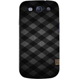 FUSON Designer Back Case Cover for Samsung Galaxy S3 Neo I9300I :: Samsung I9300I Galaxy S3 Neo :: Samsung Galaxy S Iii Neo+ I9300I :: Samsung Galaxy S3 Neo Plus (Geometric Wallpaper Art Print Black And White )