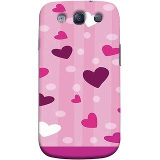 FUSON Designer Back Case Cover for Samsung Galaxy S3 Neo I9300I :: Samsung I9300I Galaxy S3 Neo :: Samsung Galaxy S Iii Neo+ I9300I :: Samsung Galaxy S3 Neo Plus (Always I Love You Red Hearts Couples Together Valentine)