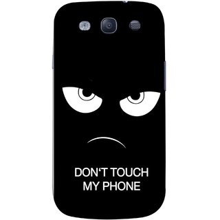 FUSON Designer Back Case Cover for Samsung Galaxy S3 Neo I9300I :: Samsung I9300I Galaxy S3 Neo :: Samsung Galaxy S Iii Neo+ I9300I :: Samsung Galaxy S3 Neo Plus (Nice Best Quotes Words Saying Motivational Angry Eyes)