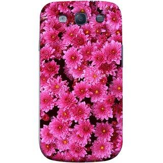 FUSON Designer Back Case Cover for Samsung Galaxy S3 Neo I9300I :: Samsung I9300I Galaxy S3 Neo :: Samsung Galaxy S Iii Neo+ I9300I :: Samsung Galaxy S3 Neo Plus (Thousands Flowers Magenta Mums Nature Pink)
