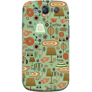 FUSON Designer Back Case Cover for Samsung Galaxy S3 Neo I9300I :: Samsung I9300I Galaxy S3 Neo :: Samsung Galaxy S Iii Neo+ I9300I :: Samsung Galaxy S3 Neo Plus (Retro Summer Village Vector Artwork Unique Designs)