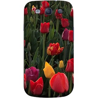FUSON Designer Back Case Cover for Samsung Galaxy S3 Neo I9300I :: Samsung I9300I Galaxy S3 Neo :: Samsung Galaxy S Iii Neo+ I9300I :: Samsung Galaxy S3 Neo Plus (Dark Bold Red Roses Chocolate Hearts For Valentines Day)