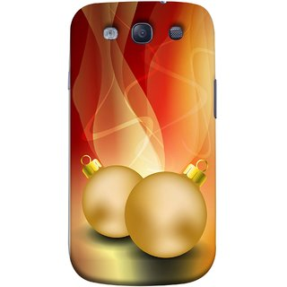 FUSON Designer Back Case Cover for Samsung Galaxy S3 Neo I9300I :: Samsung I9300I Galaxy S3 Neo :: Samsung Galaxy S Iii Neo+ I9300I :: Samsung Galaxy S3 Neo Plus (Holidays Party Arrange Yellow Red Pink Back Smokes)