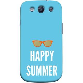 FUSON Designer Back Case Cover for Samsung Galaxy S3 Neo I9300I :: Samsung I9300I Galaxy S3 Neo :: Samsung Galaxy S Iii Neo+ I9300I :: Samsung Galaxy S3 Neo Plus (Beautiful Beach Sun Girls Yellow  Sunshine)
