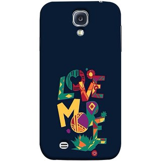 FUSON Designer Back Case Cover for Samsung Galaxy S4 I9500 :: Samsung I9500 Galaxy S4 :: Samsung I9505 Galaxy S4 :: Samsung Galaxy S4 Value Edition I9515 I9505G (I Love You Always Lovers Valentine Hearts Kiss )