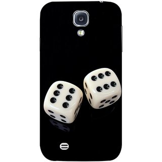 FUSON Designer Back Case Cover for Samsung Galaxy S4 I9500 :: Samsung I9500 Galaxy S4 :: Samsung I9505 Galaxy S4 :: Samsung Galaxy S4 Value Edition I9515 I9505G (Dice Pair Nice Game India Fevorite Children Boys Girls )