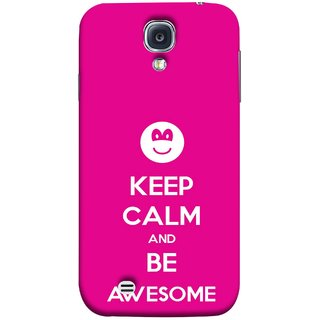 FUSON Designer Back Case Cover for Samsung Galaxy S4 I9500 :: Samsung I9500 Galaxy S4 :: Samsung I9505 Galaxy S4 :: Samsung Galaxy S4 Value Edition I9515 I9505G (Beautiful Hearts Always Stay Silent & Be Goodto Others)