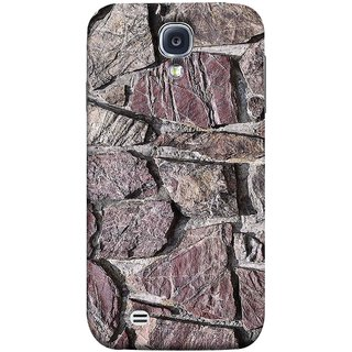 FUSON Designer Back Case Cover for Samsung Galaxy S4 I9500 :: Samsung I9500 Galaxy S4 :: Samsung I9505 Galaxy S4 :: Samsung Galaxy S4 Value Edition I9515 I9505G (Sandstone Bricks Of Irregular Shapes Slotting Together )