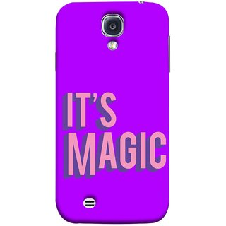 FUSON Designer Back Case Cover for Samsung Galaxy S4 I9500 :: Samsung I9500 Galaxy S4 :: Samsung I9505 Galaxy S4 :: Samsung Galaxy S4 Value Edition I9515 I9505G (Lovely Wow Fact Motivational Inspirational Words)