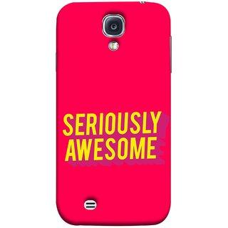 FUSON Designer Back Case Cover for Samsung Galaxy S4 Mini I9195I :: Samsung I9190 Galaxy S4 Mini :: Samsung I9190 Galaxy S Iv Mini :: Samsung I9190 Galaxy S4 Mini Duos :: Samsung Galaxy S4 Mini Plus (Take Your Dreams Seriously Very Beautiful Best )