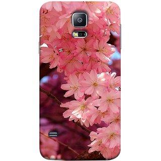 FUSON Designer Back Case Cover for Samsung Galaxy S5 :: Samsung Galaxy S5 G900I :: Samsung Galaxy S5 G900A G900F G900I G900M G900T G900W8 G900K (Flowering Cherry Trees Pink Perfection Lovely Love )