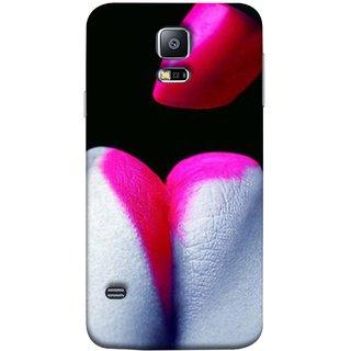 FUSON Designer Back Case Cover for Samsung Galaxy S5 :: Samsung Galaxy S5 G900I :: Samsung Galaxy S5 G900A G900F G900I G900M G900T G900W8 G900K (Red Is Great For Some One Paris Candy)