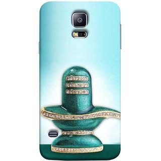 FUSON Designer Back Case Cover for Samsung Galaxy S5 Mini :: Samsung Galaxy S5 Mini Duos :: Samsung Galaxy S5 Mini Duos G80 0H/Ds :: Samsung Galaxy S5 Mini G800F G800A G800Hq G800H G800M G800R4 G800Y (Shiva Shambho Maha Shiv Ratri Ocean Hire Moti)