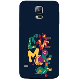 FUSON Designer Back Case Cover for Samsung Galaxy S5 :: Samsung Galaxy S5 G900I :: Samsung Galaxy S5 G900A G900F G900I G900M G900T G900W8 G900K (I Love You Always Lovers Valentine Hearts Kiss )