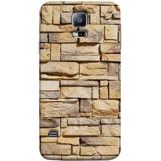 FUSON Designer Back Case Cover for Samsung Galaxy S5 :: Samsung Galaxy S5 G900I :: Samsung Galaxy S5 G900A G900F G900I G900M G900T G900W8 G900K (Wall Of Colored Stone Used As A Background)