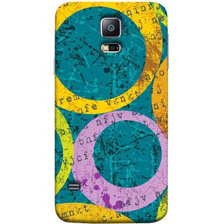 FUSON Designer Back Case Cover for Samsung Galaxy S5 :: Samsung Galaxy S5 G900I :: Samsung Galaxy S5 G900A G900F G900I G900M G900T G900W8 G900K (Nila Pila Circles Tiles Bright Cool Typography )
