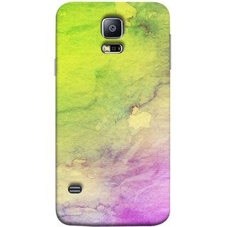 FUSON Designer Back Case Cover for Samsung Galaxy S5 Mini :: Samsung Galaxy S5 Mini Duos :: Samsung Galaxy S5 Mini Duos G80 0H/Ds :: Samsung Galaxy S5 Mini G800F G800A G800Hq G800H G800M G800R4 G800Y (Artwork Acid Bright Wallpaper Purple Green Mix)