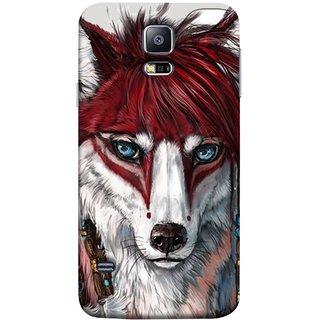 FUSON Designer Back Case Cover for Samsung Galaxy S5 Mini :: Samsung Galaxy S5 Mini Duos :: Samsung Galaxy S5 Mini Duos G80 0H/Ds :: Samsung Galaxy S5 Mini G800F G800A G800Hq G800H G800M G800R4 G800Y (Blue Eyes Girl Hairs Hairstyles Wolf Large Ears)