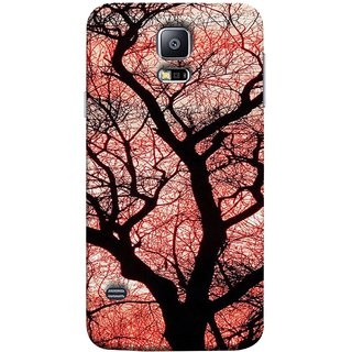 FUSON Designer Back Case Cover for Samsung Galaxy S5 Neo :: Samsung Galaxy S5 Neo G903F :: Samsung Galaxy S5 Neo G903W (Trees Gardens Big Old Jungle Branches Birds Singing)