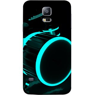 FUSON Designer Back Case Cover for Samsung Galaxy S5 Neo :: Samsung Galaxy S5 Neo G903F :: Samsung Galaxy S5 Neo G903W (Lighted Drums Led Light Up Drum Set Drum Lights )
