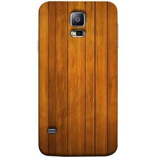 FUSON Designer Back Case Cover for Samsung Galaxy S5 Neo :: Samsung Galaxy S5 Neo G903F :: Samsung Galaxy S5 Neo G903W (Unique Wooden Pine Background Vintage Table Tiles)