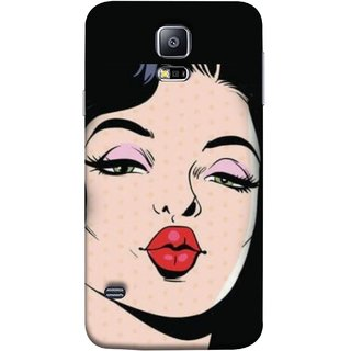 FUSON Designer Back Case Cover for Samsung Galaxy S5 Neo :: Samsung Galaxy S5 Neo G903F :: Samsung Galaxy S5 Neo G903W (Lips Kiss Heart Life Enjoy Planners Quotesgirls Dating Girls)