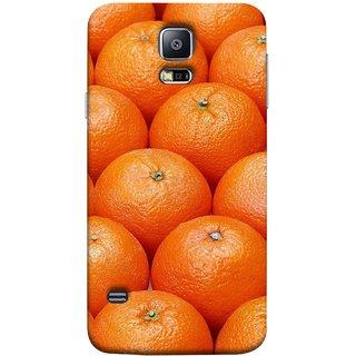 FUSON Designer Back Case Cover for Samsung Galaxy S5 Neo :: Samsung Galaxy S5 Neo G903F :: Samsung Galaxy S5 Neo G903W (Countryside Scent Of Orange Blossoms Citrun )