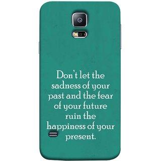 FUSON Designer Back Case Cover for Samsung Galaxy S5 Mini :: Samsung Galaxy S5 Mini Duos :: Samsung Galaxy S5 Mini Duos G80 0H/Ds :: Samsung Galaxy S5 Mini G800F G800A G800Hq G800H G800M G800R4 G800Y (Your Future Ruin The Happiness Of Your Present )