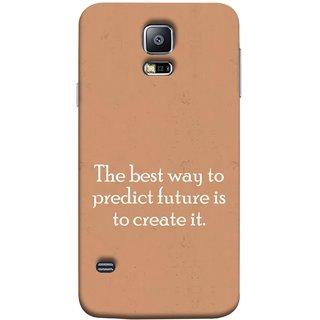 FUSON Designer Back Case Cover for Samsung Galaxy S5 Mini :: Samsung Galaxy S5 Mini Duos :: Samsung Galaxy S5 Mini Duos G80 0H/Ds :: Samsung Galaxy S5 Mini G800F G800A G800Hq G800H G800M G800R4 G800Y (Yourself Motivational Inspirational Saying Quotes)
