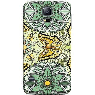 FUSON Designer Back Case Cover for Samsung Galaxy S5 Neo :: Samsung Galaxy S5 Neo G903F :: Samsung Galaxy S5 Neo G903W (Vintage Floral Seamless Pattern With Roses Leaves )