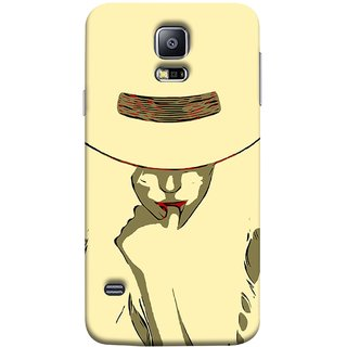 FUSON Designer Back Case Cover for Samsung Galaxy S5 Mini :: Samsung Galaxy S5 Mini Duos :: Samsung Galaxy S5 Mini Duos G80 0H/Ds :: Samsung Galaxy S5 Mini G800F G800A G800Hq G800H G800M G800R4 G800Y (Black Background Girl Heroin Female Modern Young)