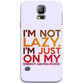 FUSON Designer Back Case Cover for Samsung Galaxy S5 Neo :: Samsung Galaxy S5 Neo G903F :: Samsung Galaxy S5 Neo G903W (Potential Energy Your Emotions Motivational Inspirational Words)