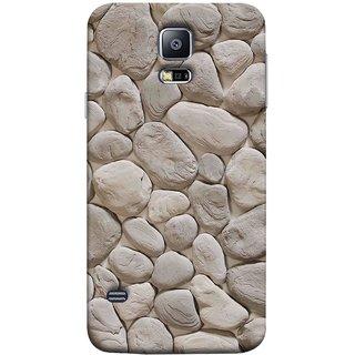 FUSON Designer Back Case Cover for Samsung Galaxy S5 Neo :: Samsung Galaxy S5 Neo G903F :: Samsung Galaxy S5 Neo G903W (Landscape River Old Rock Sizes Irregular Shapes Mat)