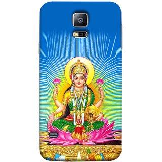 FUSON Designer Back Case Cover for Samsung Galaxy S5 Neo :: Samsung Galaxy S5 Neo G903F :: Samsung Galaxy S5 Neo G903W (Maa Dhan Lakshmi Hindu Parvati Saraswati Shankar)