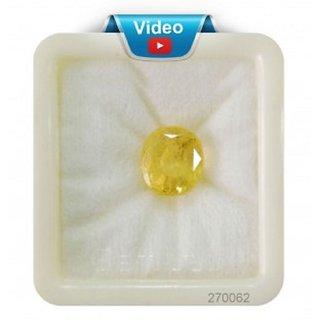 Om gyatri 8.45cts (9.50 ratti) Natural Yellow Sapphire Pukhraj