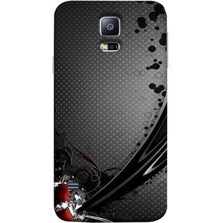 FUSON Designer Back Case Cover for Samsung Galaxy S5 Neo :: Samsung Galaxy S5 Neo G903F :: Samsung Galaxy S5 Neo G903W (Red Bubbles Unique Whimsical Fantasy Fine Art Spots)