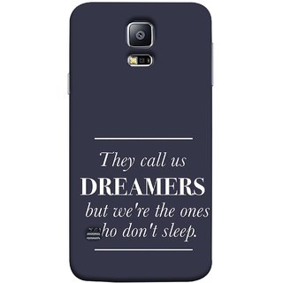 FUSON Designer Back Case Cover for Samsung Galaxy S5 Neo :: Samsung Galaxy S5 Neo G903F :: Samsung Galaxy S5 Neo G903W (But We Are The Ones Who Don'T Sleep Successful )