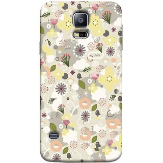 FUSON Designer Back Case Cover for Samsung Galaxy S5 Neo :: Samsung Galaxy S5 Neo G903F :: Samsung Galaxy S5 Neo G903W (Elegant Gentle Trendy Pattern In Small Scale Flower)