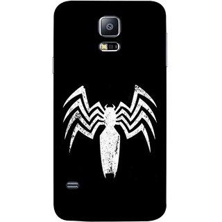 FUSON Designer Back Case Cover for Samsung Galaxy S5 Neo :: Samsung Galaxy S5 Neo G903F :: Samsung Galaxy S5 Neo G903W (Spiderman Logo Catwoman Dc Comics Parker)